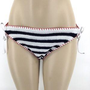🚨2/$20 XHILARATION Bikini Bottom L XL Navy White